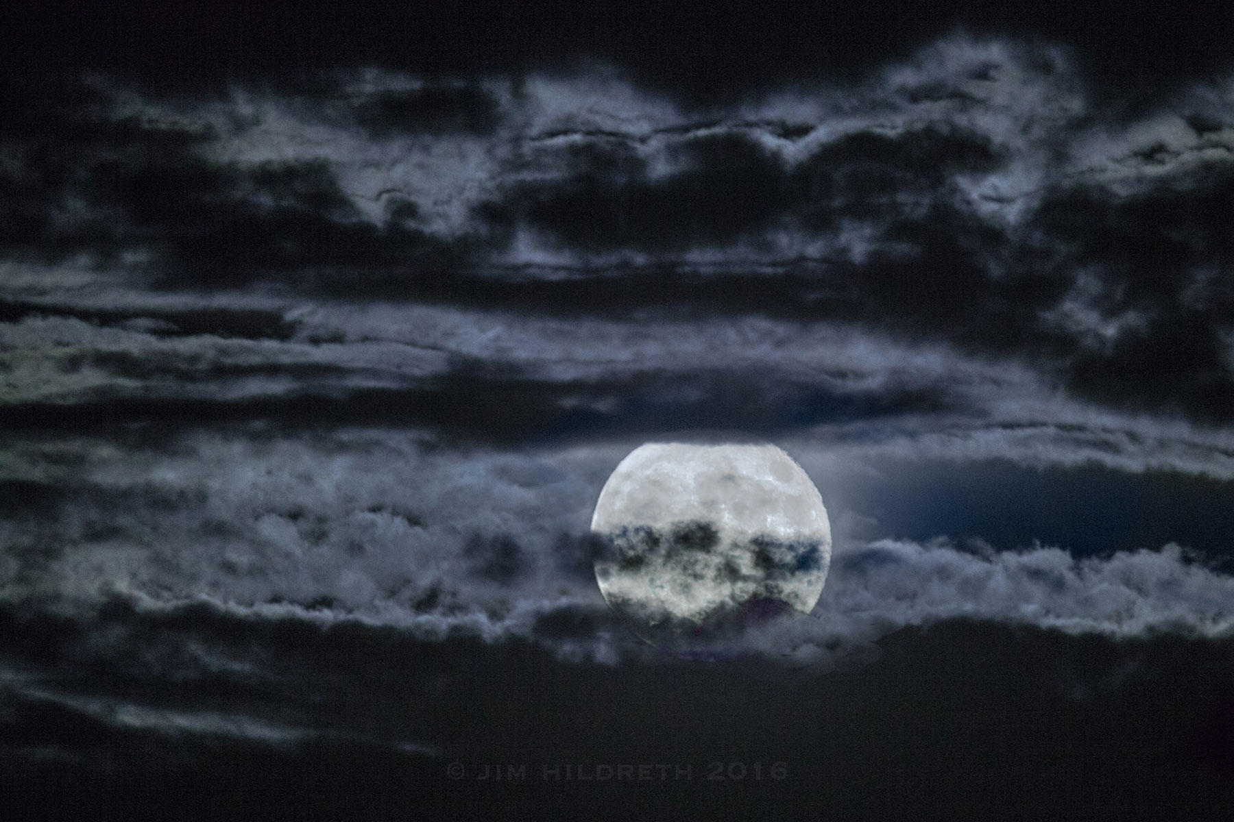 Foreboding Moon